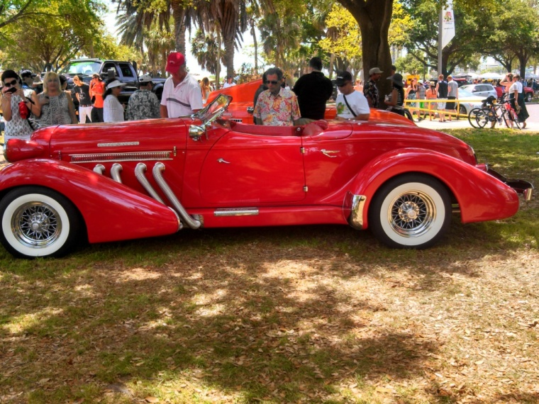 1930's Auburn Supercharged Speedster